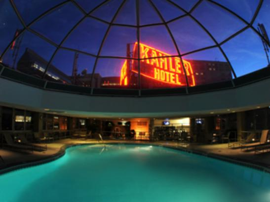 Rooftop Domed Pool