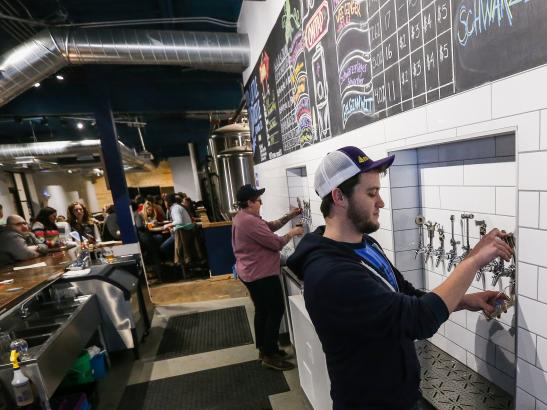 Little Thistle Brewing Co. | credit Rochester Magazine