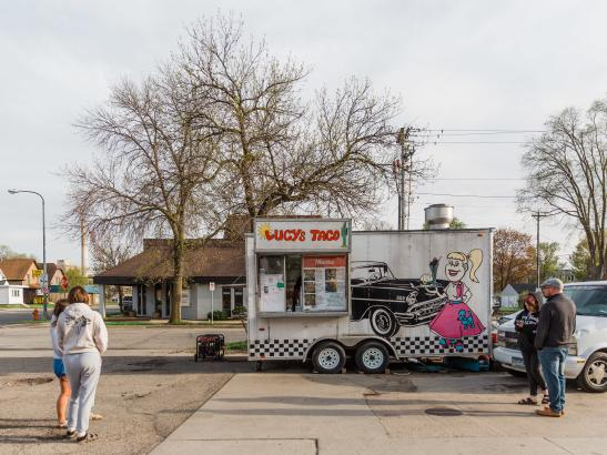 Lucy's Taco Truck Stand | credit AB-PHOTOGRAPHY.US
