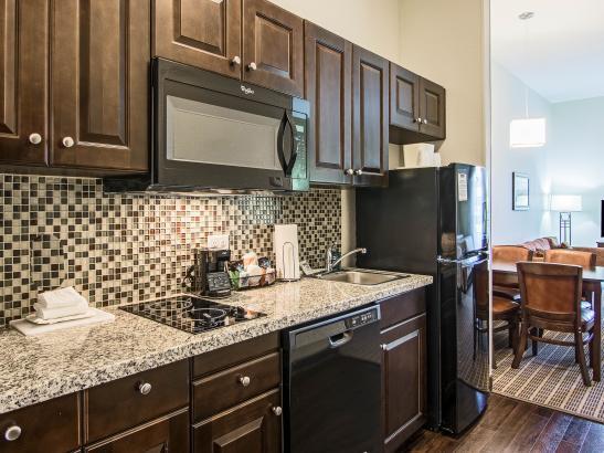 Kitchenette, Efficiency, 2 Queen Suite