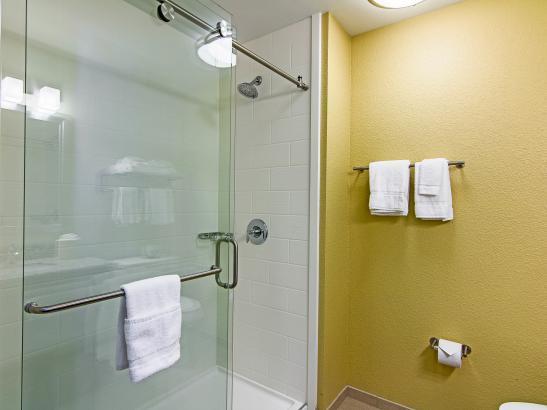 Bathroom - Glass walk in Shower