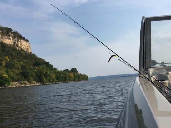 Boating on the Mississippi | credit Mary Gastner