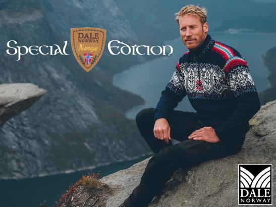 Norge Special Edition Sweater by Dale of Norway