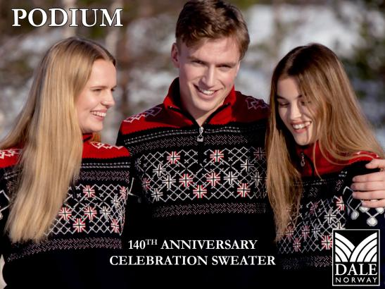 Dale of Norway's 140th Anniversary Celebration Sweater, PODIUM
