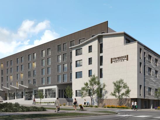 Rendering of Staybridge Suites