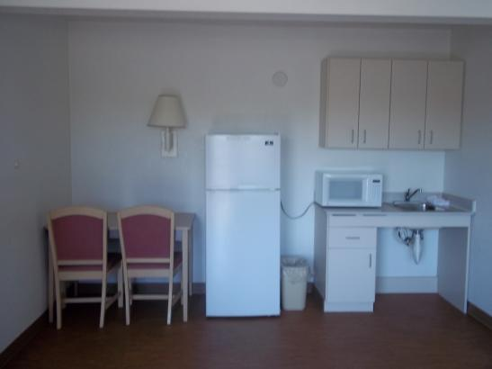 Suite With Fridge and Microwave