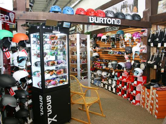 A go-to winter sports store