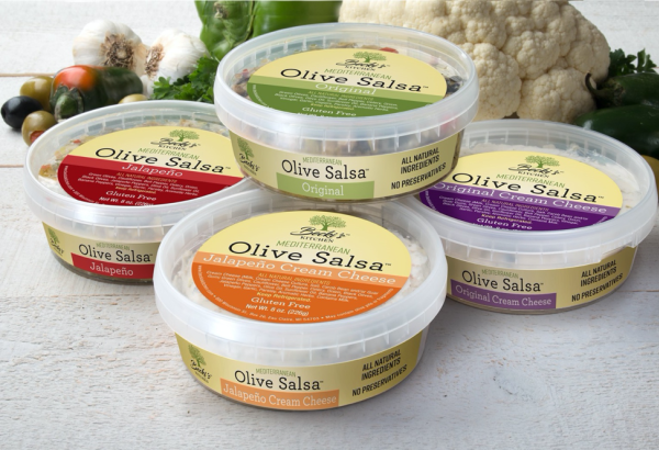 Becki's Mediterranean Olive Salsa Containers