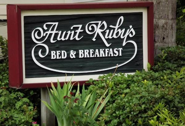 Aunt Ruby's Bed and Breakfast