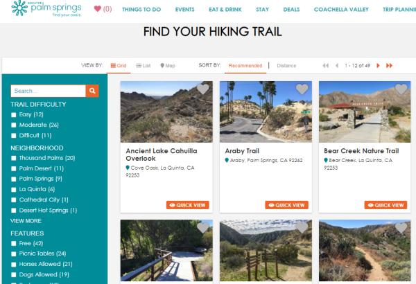 AR 2019_Dest Dev_Hiking Trails
