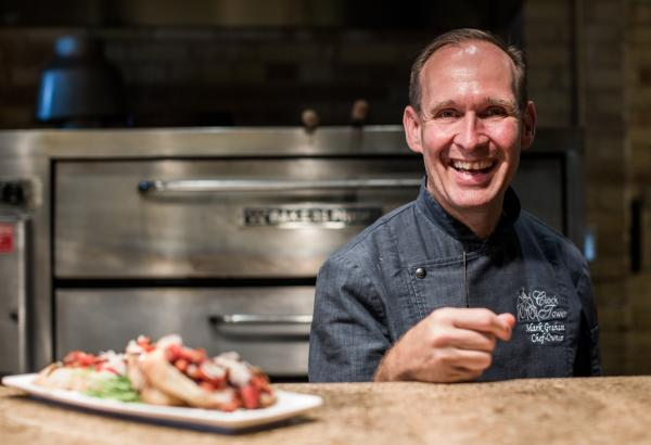 Chef Mark Graham from Clock tower