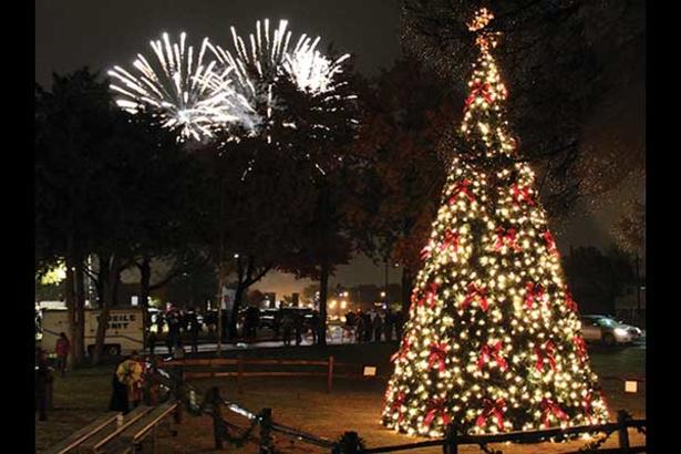 City of Irving Tree Lighting