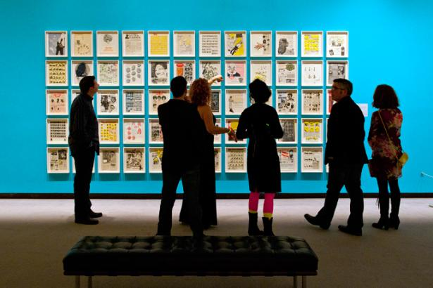 People Visiting the Wichita Art Museum