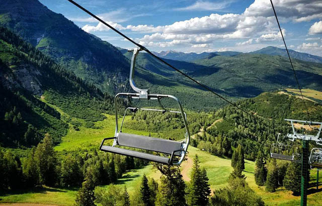 sundance ski lift