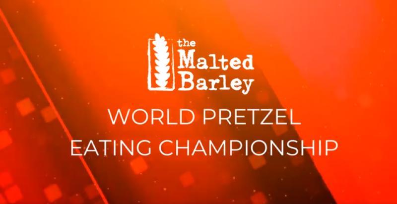 Pretzel Eating Contest
