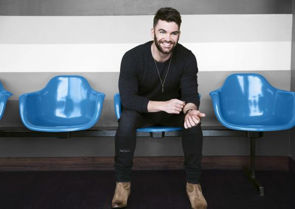 Dylan Scott playing at the 2018 Louisiana Pirate Festival
