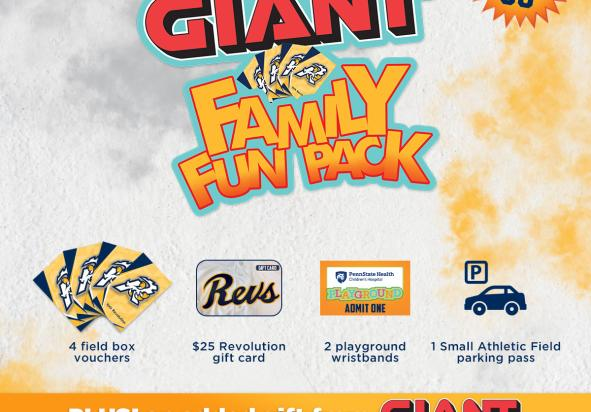 GIANT Family Fun Pack