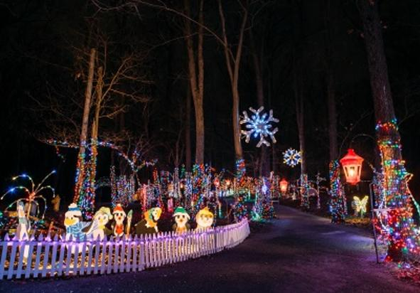 Christmas Lights In Pa.Christmas Magic A Festival Of Lights