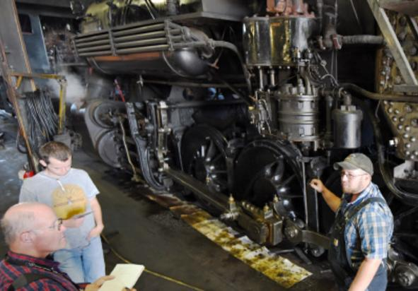 Strasburg RR Shop Tour