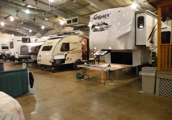 York RV Show Camper