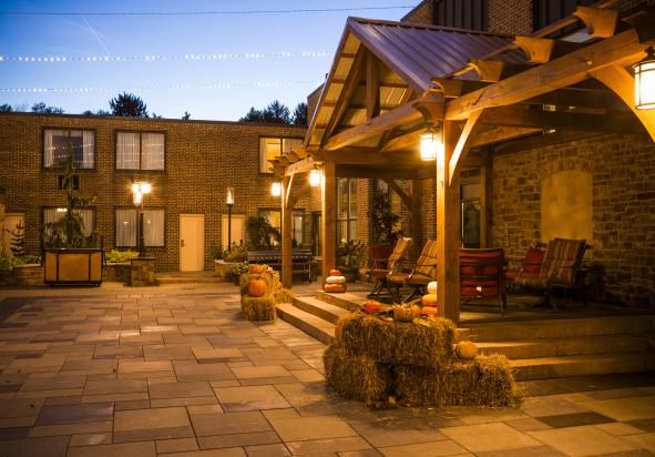 Outdoor Courtyard