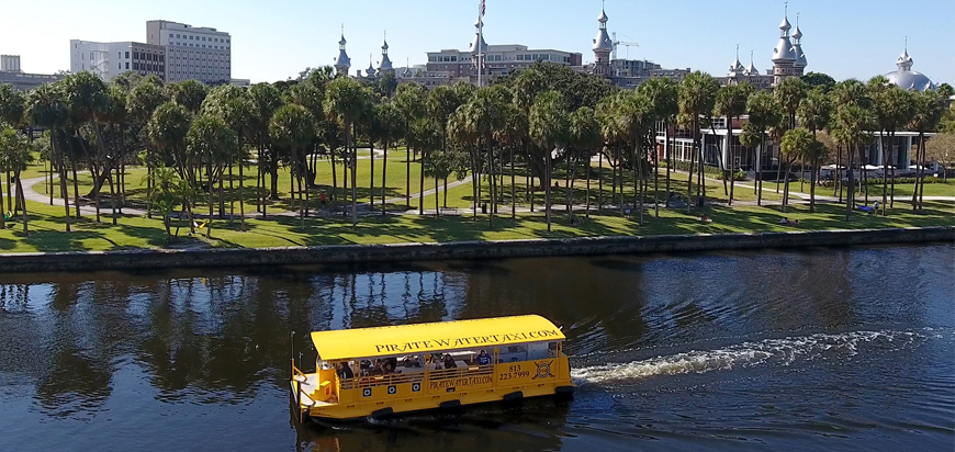 Pirate Water Taxi in Tampa Bay Florida