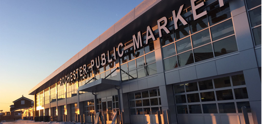 Rochester Public Market at Dawn