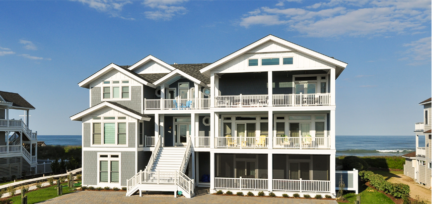 Twiddy and Company Beachfront Vacation Rental in Outer Banks North Carolina