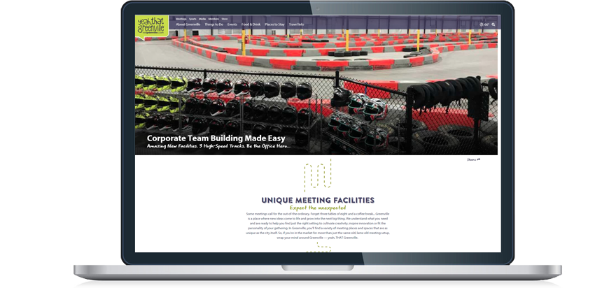 LeMans Indoor Karting Unique Meetings Header Image on VisitGreenvilleSC.com