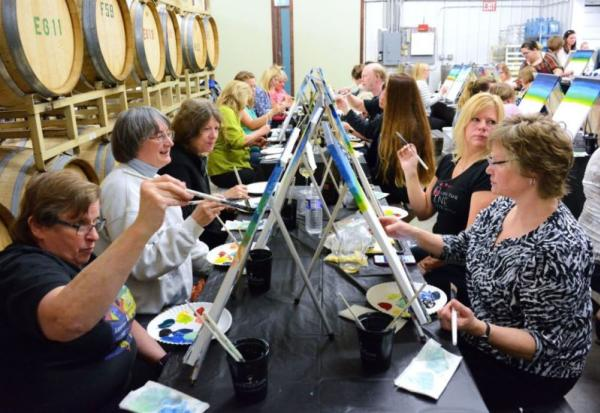 Treleaven's Sip and Paint Party
