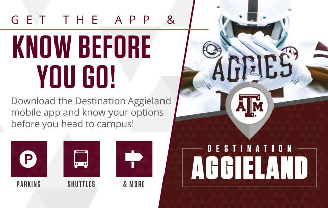 Destination Aggieland App 2019