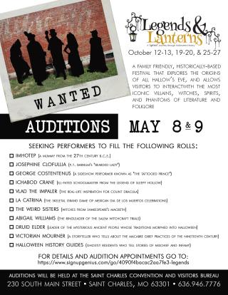 2019 Audition Flyer
