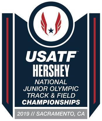 USATF Junior Olympic 2019 logo