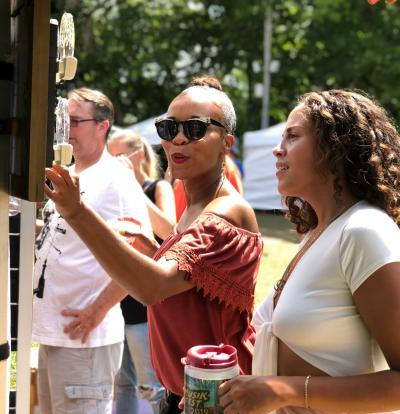 Handwerkplatz at Musikfest, Lehigh Valley, PA
