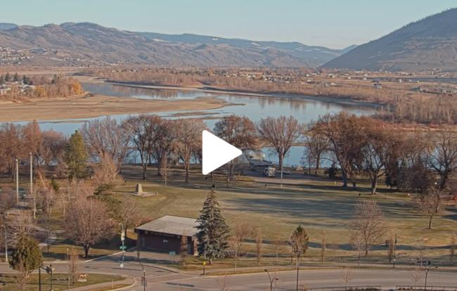 Tourism Kamloops Webcam - April 6, 2020