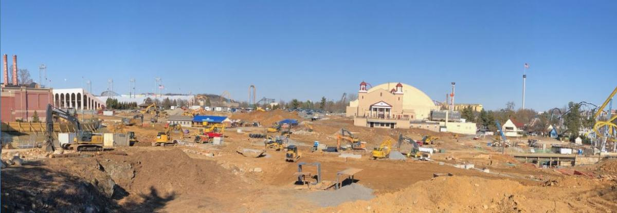 Chocolatetown Construction Photo 2019