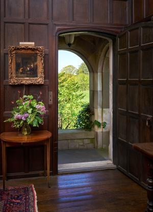 Open Door View from Coe Hall_Den