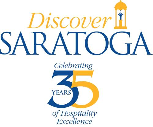 Discover Saratoga 35th Anniversary Logo