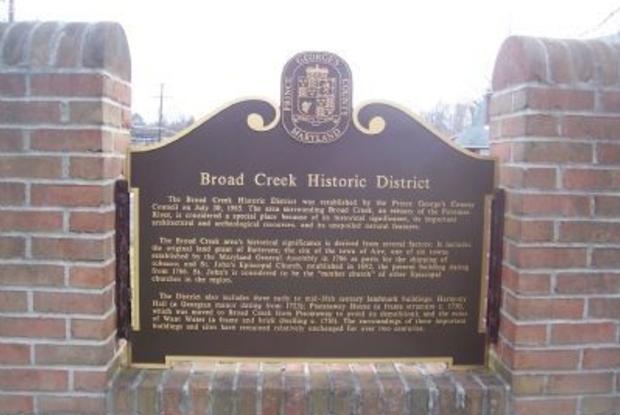 Broad Creek Historic District