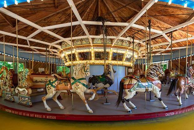 Chesapeake Carousel at Watkins