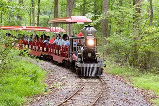 Miniature Train At Watkins