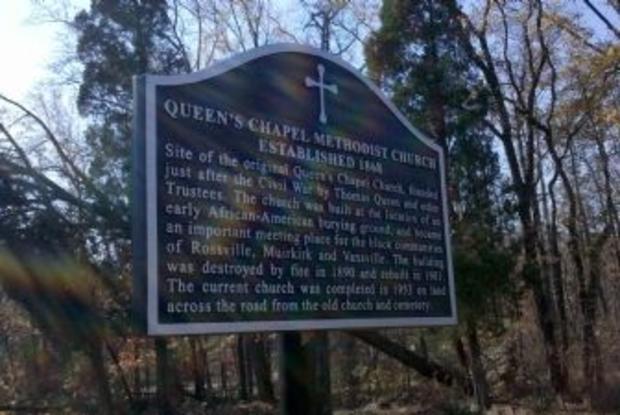 Queen's Chapel Methodist Episcopal Church Site & Cemetery