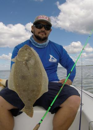 Flounder in Panama City Beach
