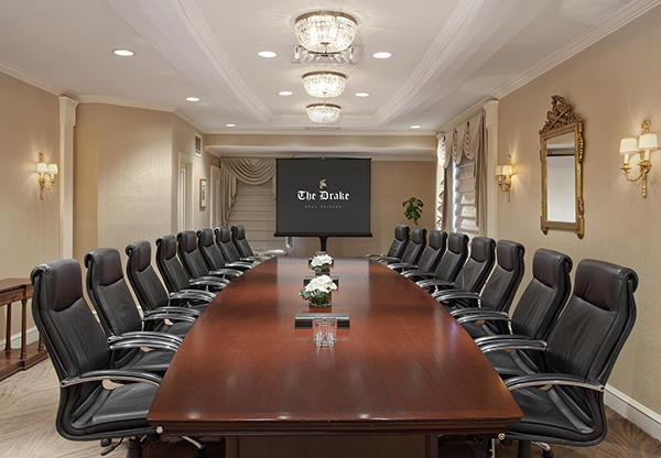 Lakeshore Boardroom at The Drake Hotel
