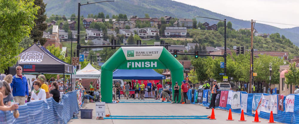 Run to the finish at the Steamboat Marathon, Half and 10K