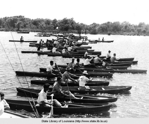 Jean Lafitte Pirogue Races