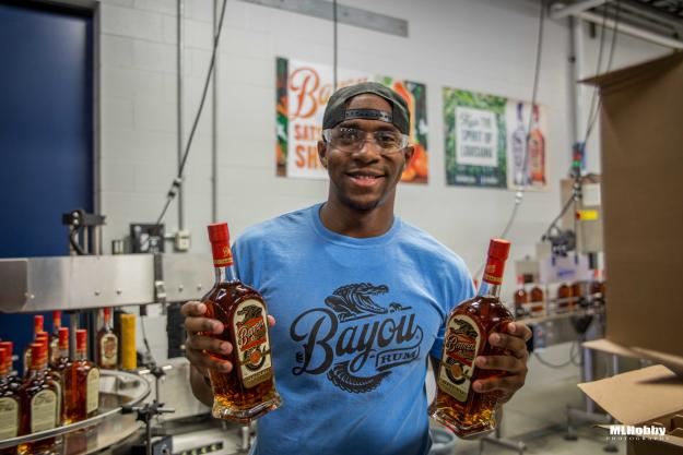 How Bayou Rum is Made & Bottled | Michael Hobson