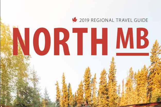 2019 Northern Manitoba Travel Guide cover