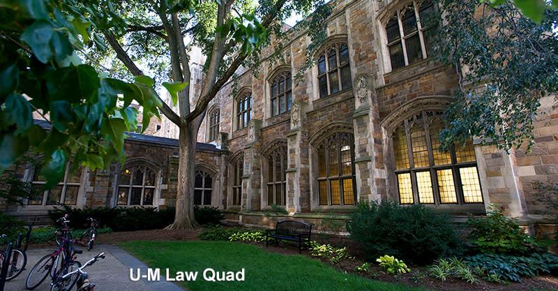 U-M Law Quad