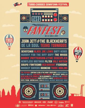 2014 Fanfest in downtown Austin, Texas